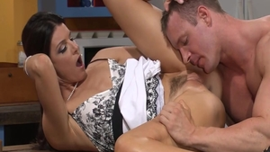 India Summer in panties cheating