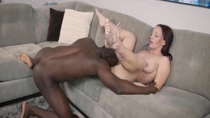 Cumshot together with young MILF
