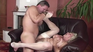 Raw sex starring hairy hungarian granny Granny Norma