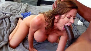 Pussy sex escorted by brunette Alexis Fawx