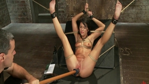 BDSM together with very hot babe Adriana Chechik
