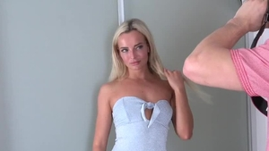 Czech blonde Victoria Pure has a taste for fucking hard
