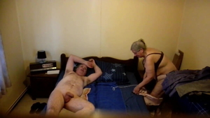 Granny bends to get fucked HD