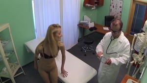 Hidden real sex with skinny blonde haired