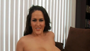 Solo big ass and plump stepmom softcore finds dick to fuck