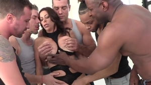 Big boobs brunette Alexis Fawx hardcore humping sucking cock