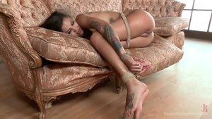 Domination BDSM accompanied by Bonnie Rotten in HD
