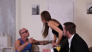 Group sex along with Mike Angelo in HD