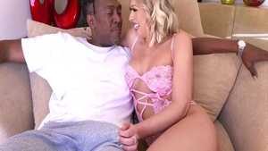 Blonde Zoey Monroe loves nailed rough