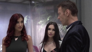Anie Darling plus Chad Rockwell group sex in HD