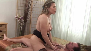 Big tits stepmom George Uhl HD
