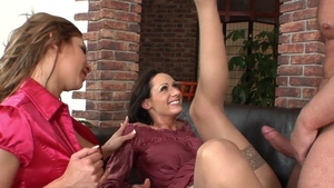 Real sex together with George Uhl & Lena Cova