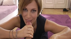 Hard ramming in company with big tits stepmom Sylvia Laurent