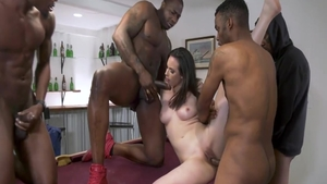Gangbang with Casey Calvert and Rico Strong
