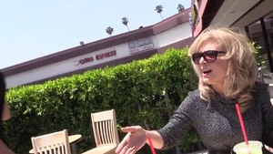 Nina Hartley double penetration in public