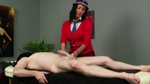 Oiled plowing hard along with amateur Chantelle Fox