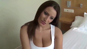 Doggystyle in company with big tits german mature