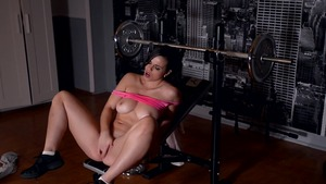 Busty female has a thing for masturbation