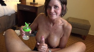 Hard pounding in the company of tanned MILF