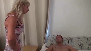 Hot blonde french Max Casanova blowjobs