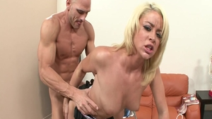 Hot babe Johnny Sins enjoys greatly ramming hard in a suit