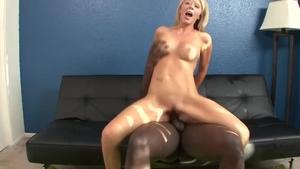 Hairy and big boobs Ashley Winters interracial bang