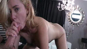 Blonde Haley Reed ass pounded