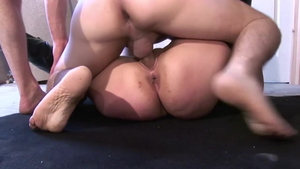 French MILF wishes for licking ass HD