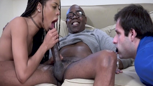 Raw sex scene among tight Kira Noir