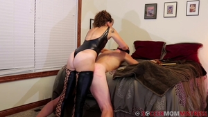 Humiliation in the company of stepmom