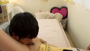 Asian schoolgirl MMF JAV