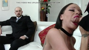 Housewife goes for nailed rough