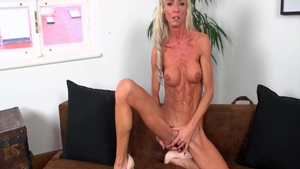 Real sex among sexy british babe Alexis Starr in HD