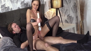 Wild chick Ryan Ryder feels up to raw sex