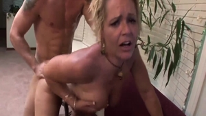 Steamy good fuck together with big tits blonde Kelly Leigh