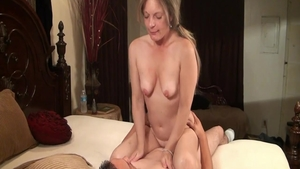 Erotic hard sex in company with glamour chick
