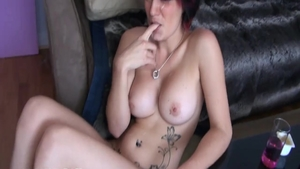 Very hot french chick digs hardcore sloppy fucking