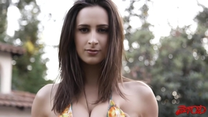 Nailed rough in company with busty babe Ashley Adams