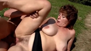 Masturbation in the woods in HD