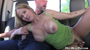 Hot Wife Rio jacking off