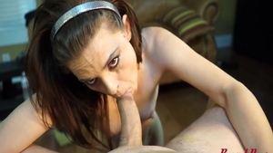 Skinny babe pussy fuck in HD