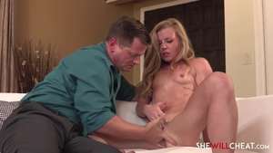 Young housewife Nicole Clitman craving pussy sex in HD