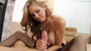 POV pussy fucking next to pornstar Mark Wood in the woods