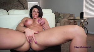 Large boobs goddess feels in need of sloppy fucking in HD