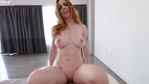 Very sexy redhead feels like hard pounding HD