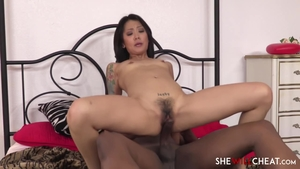Hairy and tattooed stepmom uncensored interracial banging