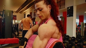 Fetish raw fucking together with muscle bodybuilder
