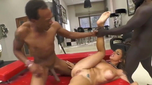 Nailed rough starring european brunette Malena Nazionale