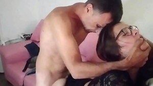 Doggy fucking along with couple