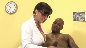 Doctor gets a buzz out of raw sex